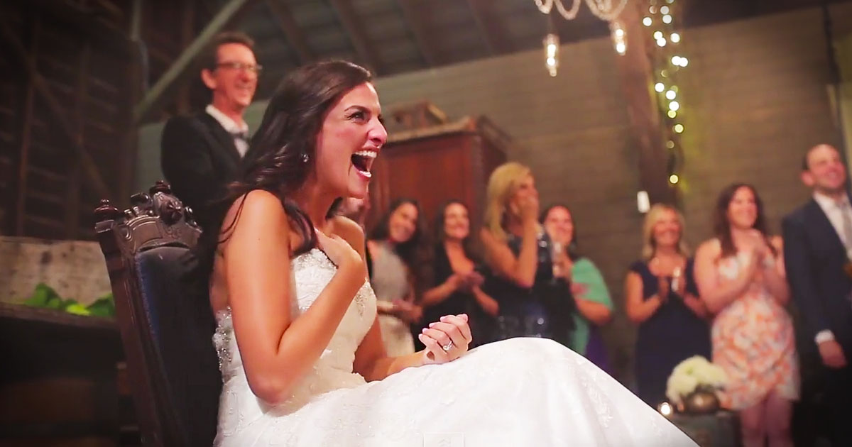 Their Wedding Day Was A Fairytale But The Surprise He Gave Her At