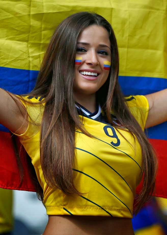 Photos Of The Sexiest Women Fans Of The 2018 World Cup The