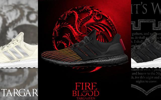 Así son las zapatillas adidas de Juego de Tronos, la